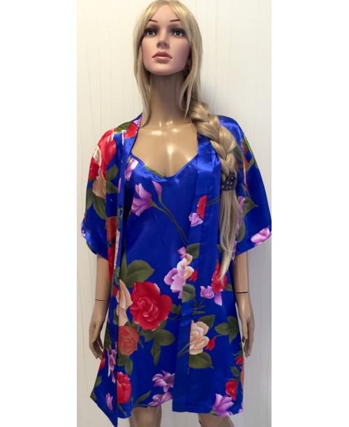 Комплект халат + рубашка №035-1