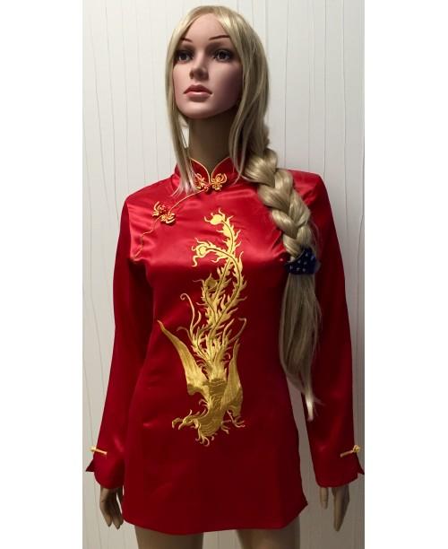 Туника в китайском стиле с рукавом