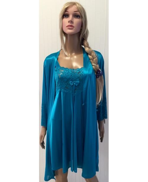 Комплект халат+рубашка №8706